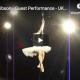 Amazing pole dance routine tasteful