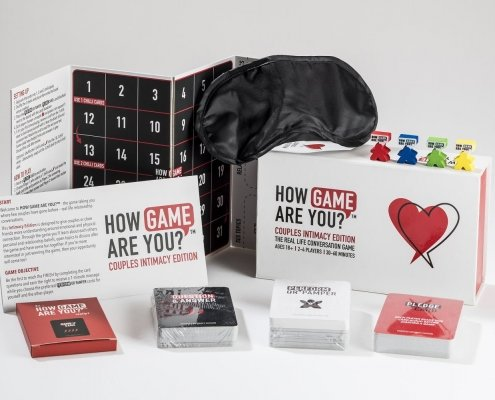 Couples Intimacy Edition Box contents