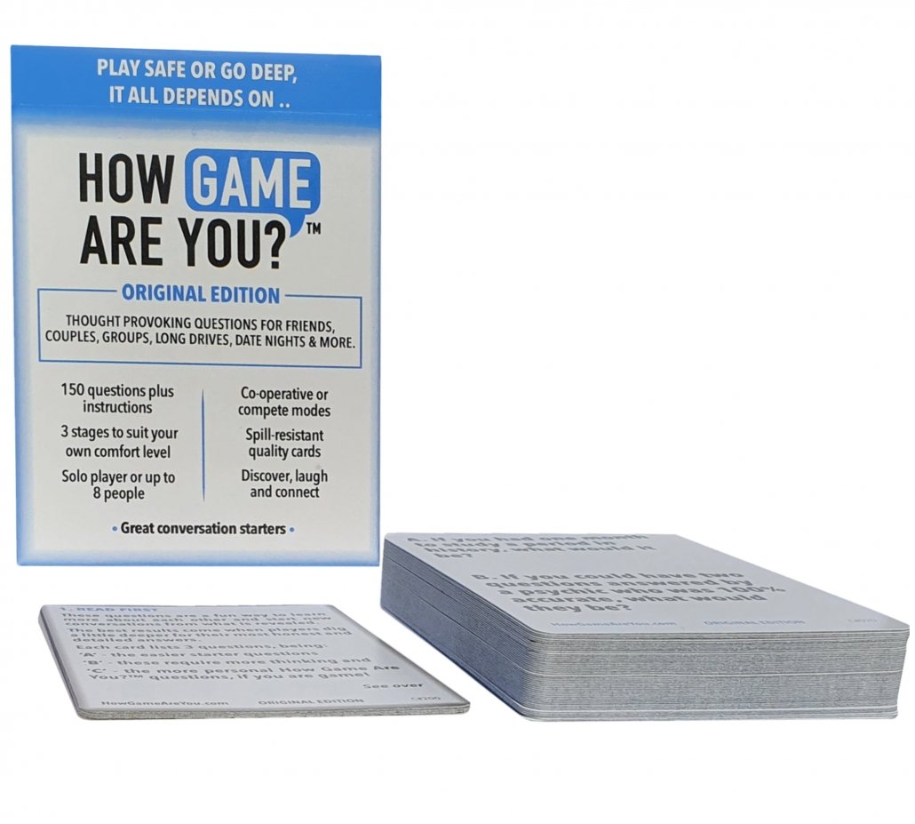 How game are you Original Questions cards